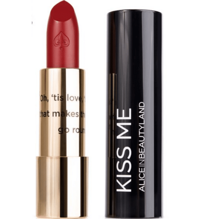 Labial Kiss Me Nº4 Time Alice in Beautyland