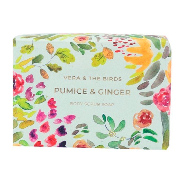 Pumice & Ginger Body Scrub Soap Vera and The Birds