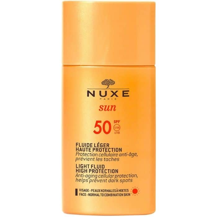 nuxe-sun-Fluide Léger Haute Protection