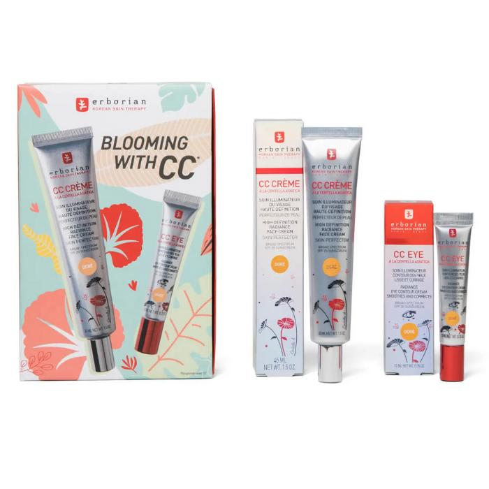 Kit Blooming CC Crème Doré (Estuche de Tratamiento Facial)